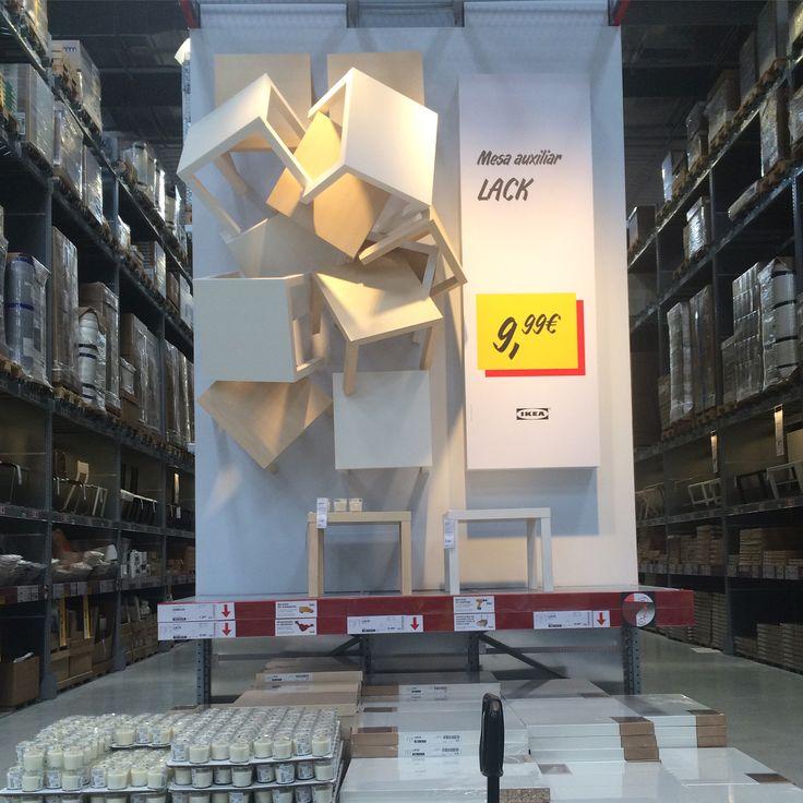 IKEA Alcorcon, Madrid, Self Serve Furniture display
