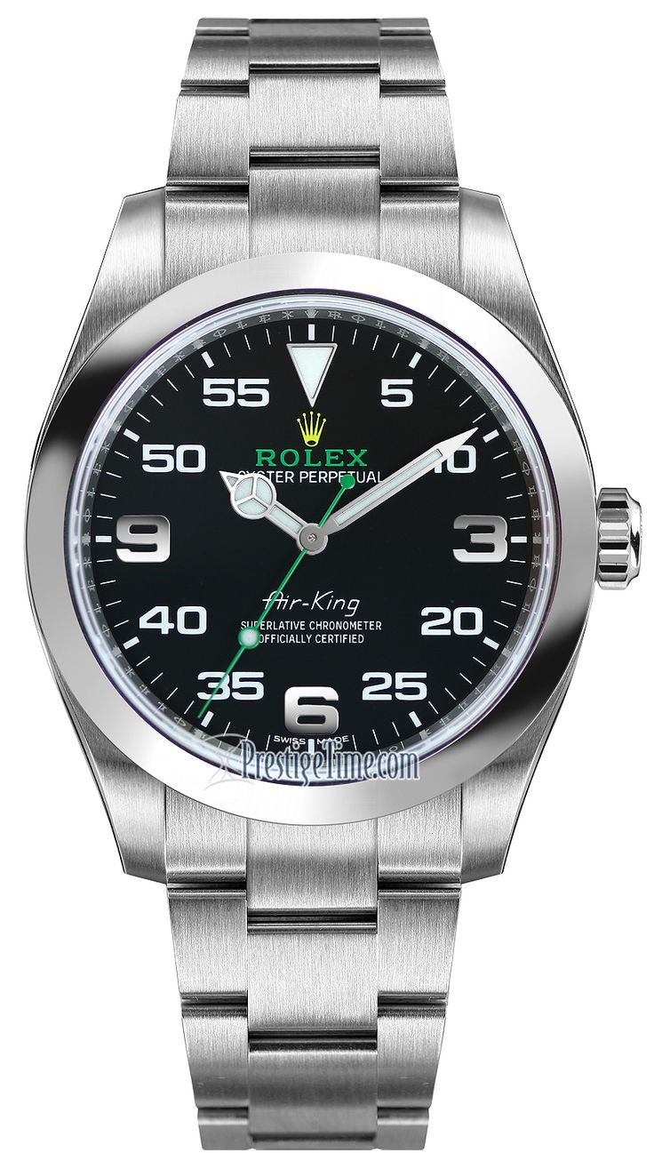 Rolex Oyster Perpetual Air King 40mm 116900 Black Rolex