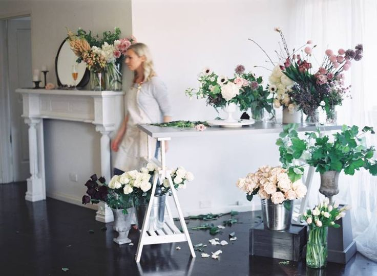 A behind the scenes look at Sydney Wedding Florist Trille Floral by Kylie Mills Photography