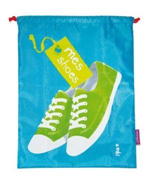 POCHETTE DE VOYAGE - Mes chaussures - Bleu