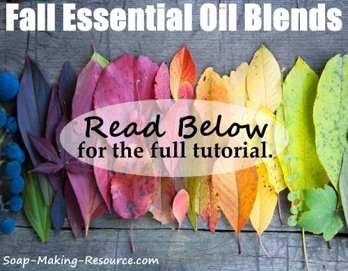 1000 images about soap scent blends on pinterest for Fall soap scents
