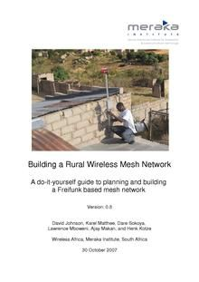 Mesh networking - Wikipedia  See article for several installations around the world.