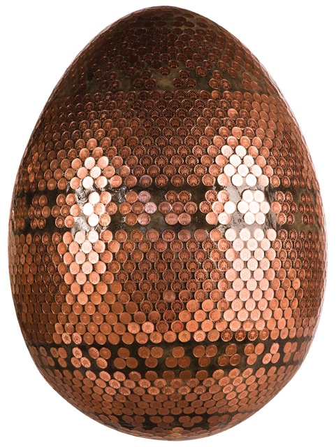 Faberge Penny egg from http://www.thebigegghunt.co.uk/