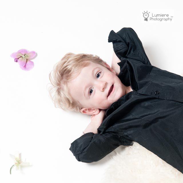 kinderportret in studio