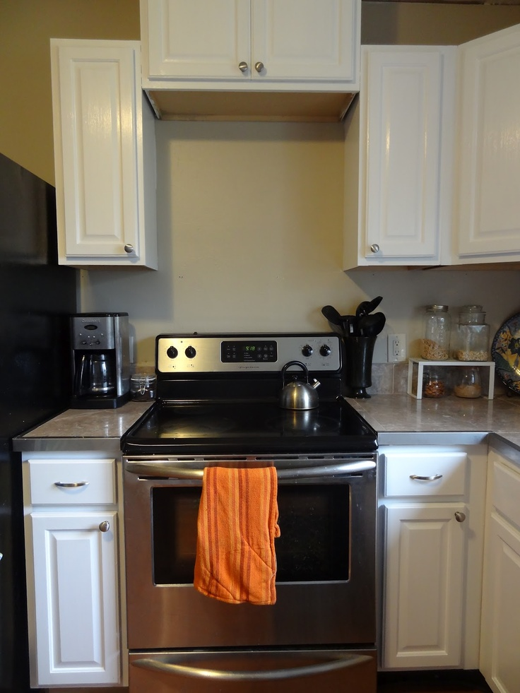 Painting Kitchen Cabinets Tutorial