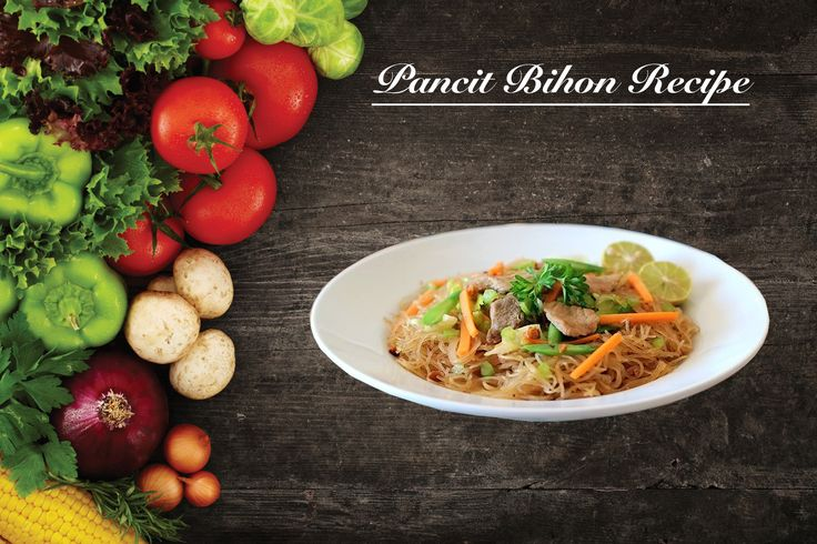 "Pancit Bihon Recipe | Buhay Kusina  Pancit Bihon Recipe is a lutong pinoy dish that uses ""Bihon"" or rice sticks or noodles mixed with pork, chicken, and vegetables."
