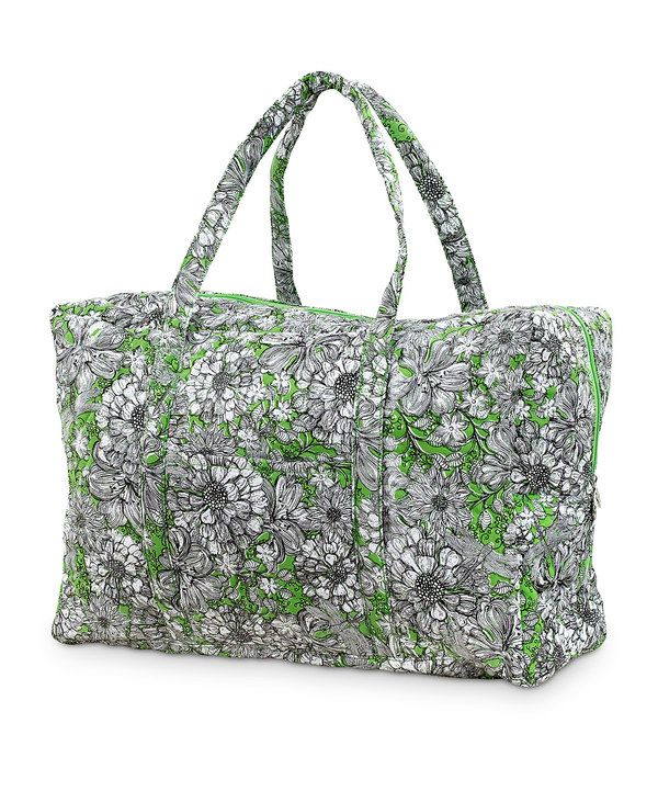 Take a look at this Knotting Hill Quilted Duffel on zulily today!