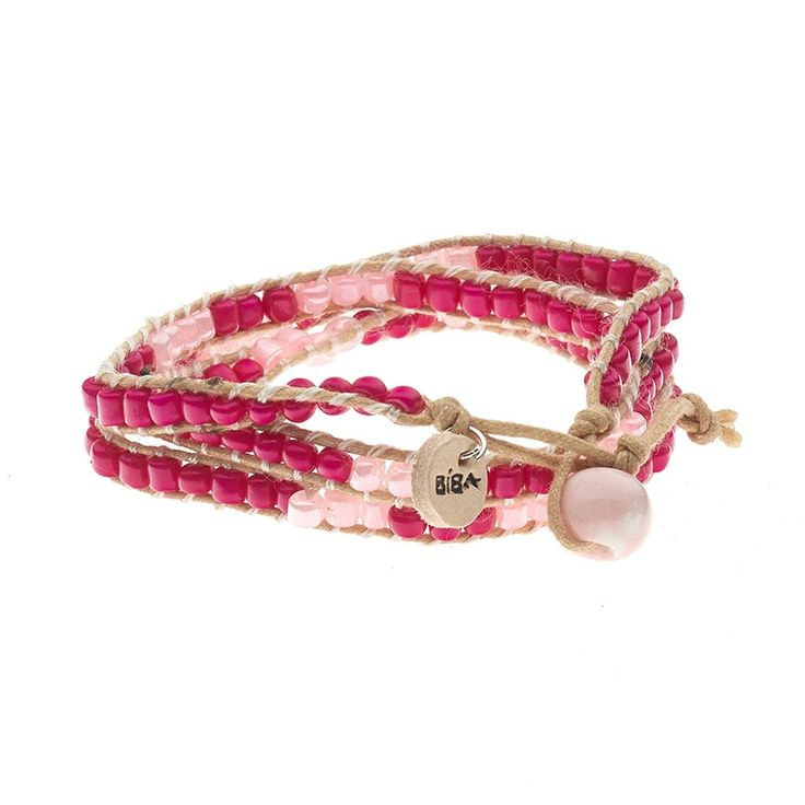 Armband summer light pink/dark pink | BIBA | VILLA VICA