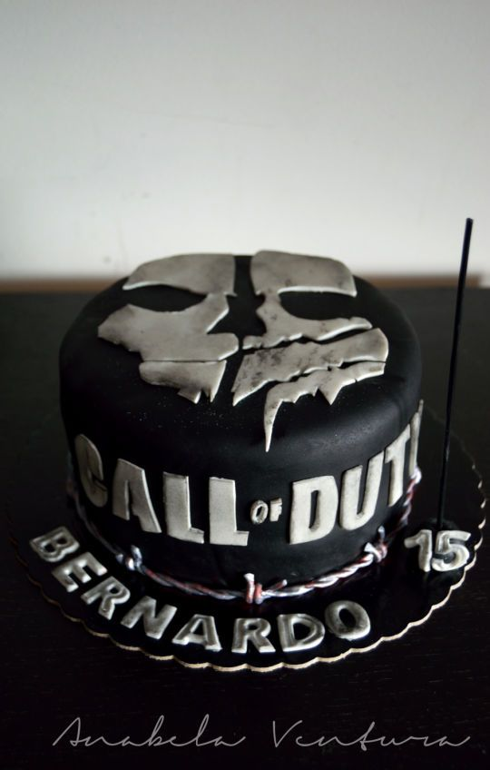 176 Best Cakes Call Of Duty Images On Pinterest Anniversary
