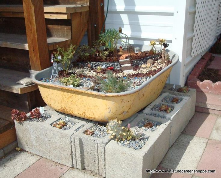 Delighful Fairy Garden Containers This Pin And More On Inside Ideas