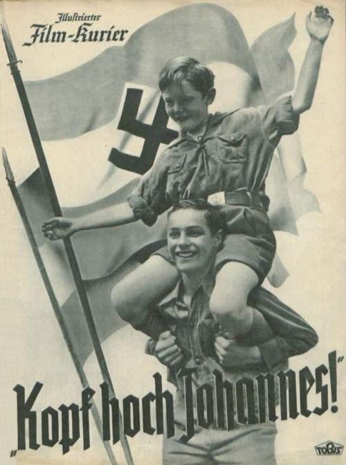 """German WW2 """"Head high John"""""""