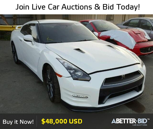 Salvage  2015 NISSAN GTR for Sale - JN1AR5EF1FM280729 - https://abetter.bid/en/40028176-2015-nissan-gt-r_premi