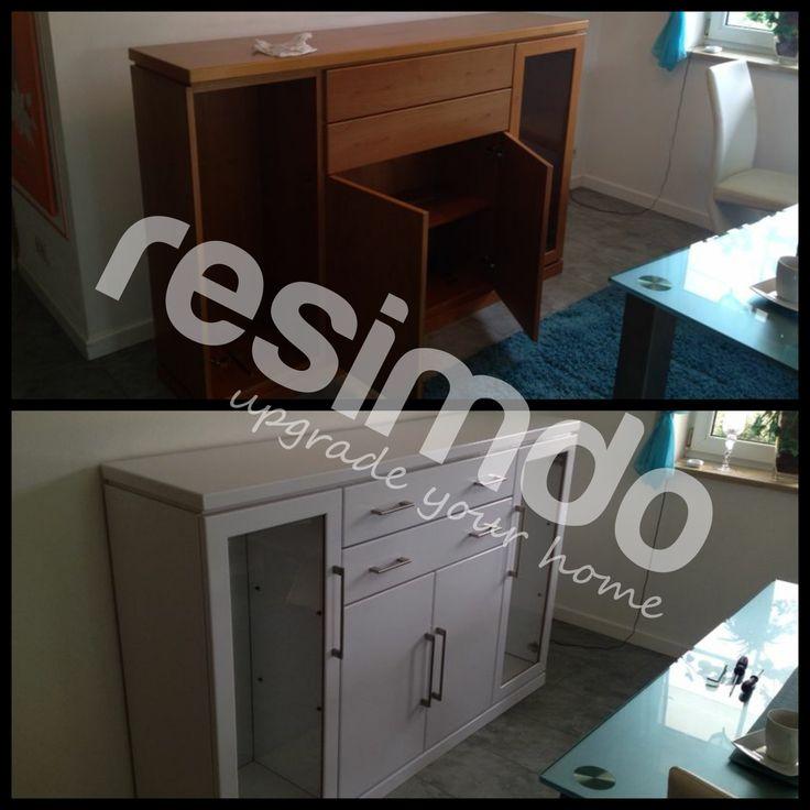 badezimmer renovieren rot mbel folie upcycling schnerwohnen interior - Kuche Renovieren Folie