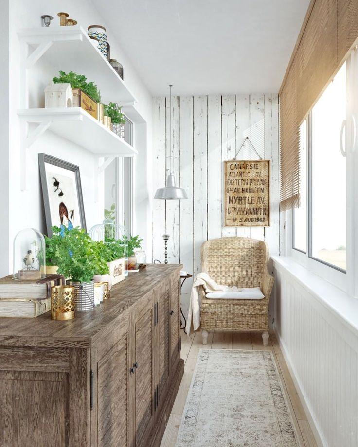 балкон в дизайне интерьера двухкомнатной квартиры