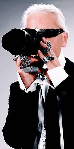 Karl Lagerfeld talks about the importance of photography in the fashion world | cynthia reccord