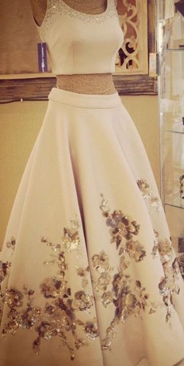 Suneet Verma# lehenga # love white # hand work # Indian fashion