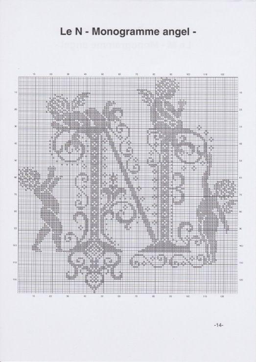 Gallery.ru / Фото #17 - JD327 - Monogrammes Angels - lyulnar