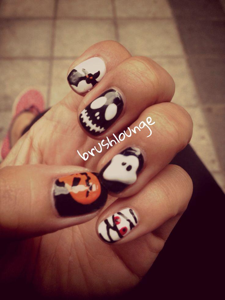 holloween nail_brushlounge