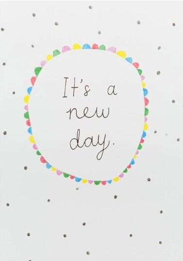Its a new day! Tips for getting back on track - GirlMeetsFitness.net