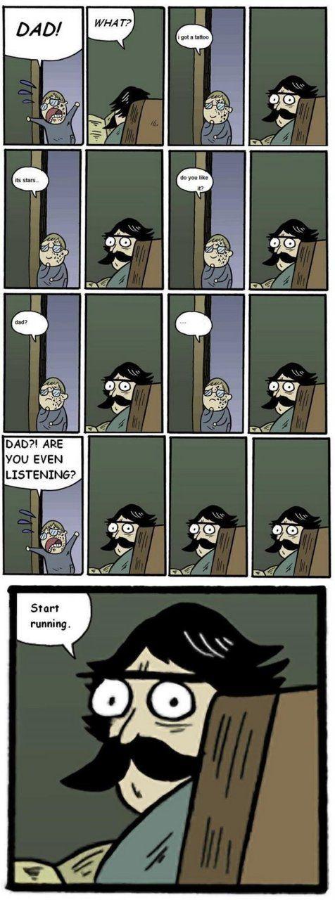Stare dad memes