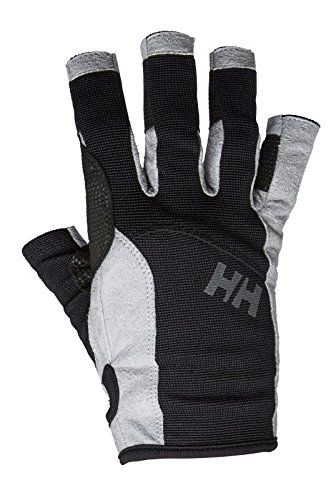 Helly Hansen Short Sailing Gloves, Small, Black  http://fishingrodsreelsandgear.com/product/helly-hansen-short-sailing-gloves/?attribute_pa_size=small&attribute_pa_color=black  Sailing gloves Short length Perfect companion for any sailor