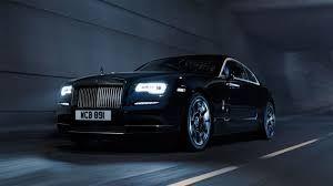P Black Rolls Royce Phantom Coupe HD Desktop Wallpaper