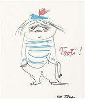 Tuutikki Too Ticky by Tove Jansson