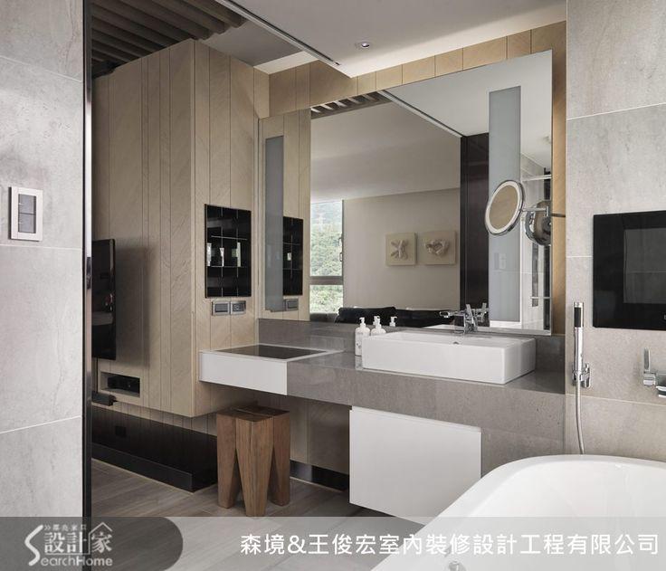 Modern bathroom. Batroom ceiling. Современный санузел. Современная ванная комната. Тумба с раковиной. Туалетный столик в ванной.
