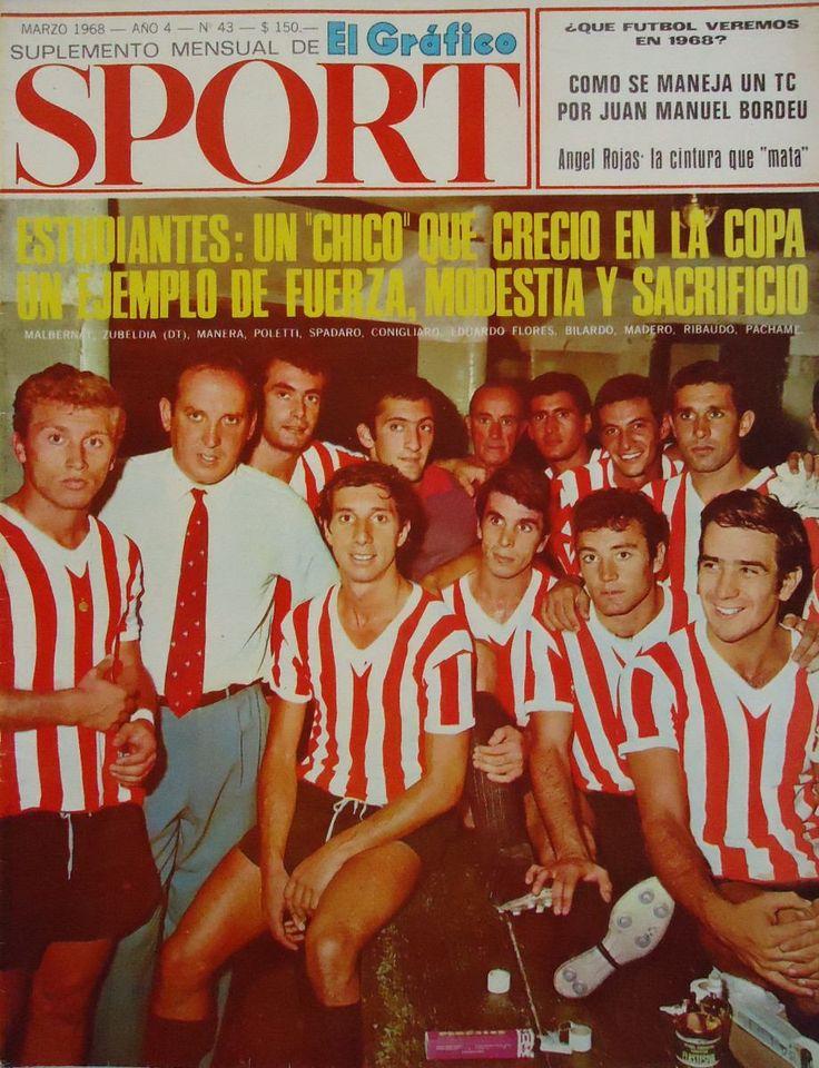 FÚTBOL. 1968. El gran #Estudiantes de Osvaldo Zubeldía.