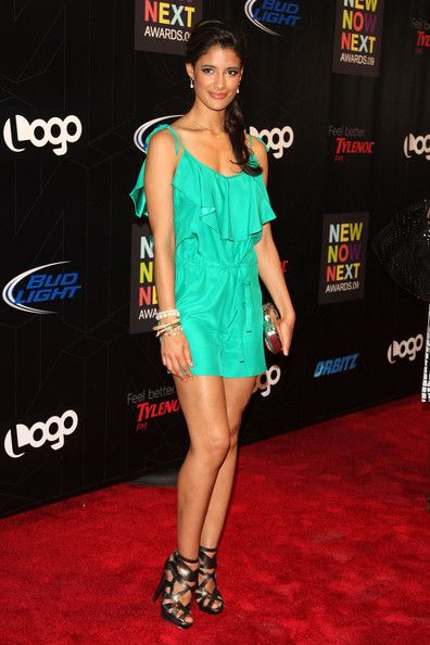Jessica Clark attends the 2nd Annual Logo NewNowNext Awards at the Hiro Ballroom at The Maritime Hotel on May 20, 2009 in New York City.  (Photo by Bryan Bedder/Getty Images) *** Local Caption *** Jessica Clark