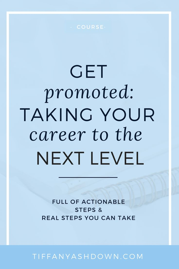 Get Promoted | All about making your life easier & more effective when working towards a promotion. If you really want to take the next step to get your next promotion, then this course is the ideal next step.