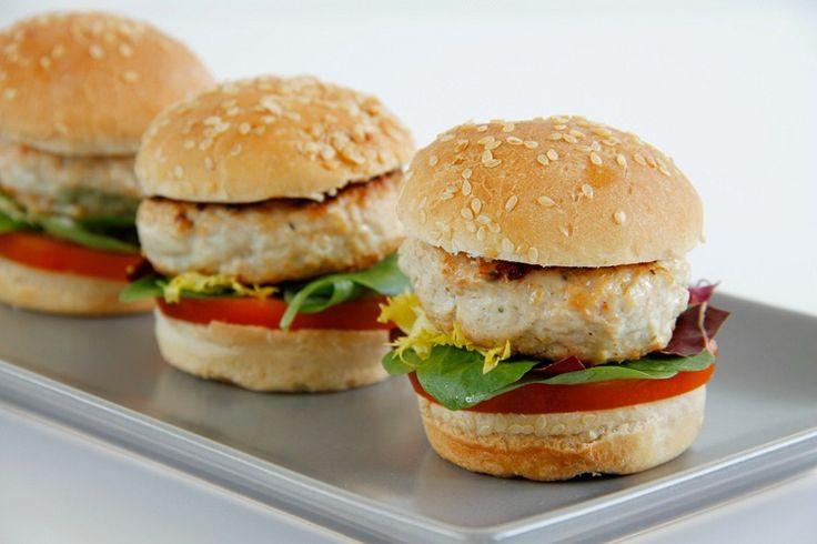 Mini hamburguesas de pollo - MisThermorecetas