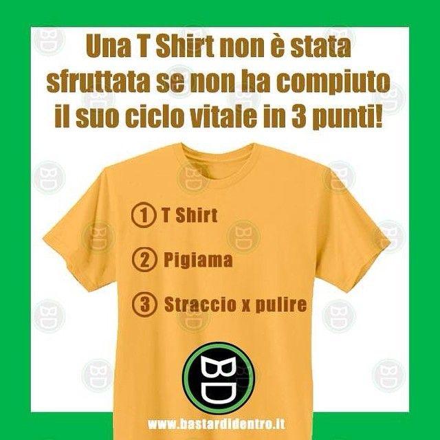 #ciclo vitale di una #maglietta #bastardidentro #ipnoticamentebastardidentro www.bastardidentro.it