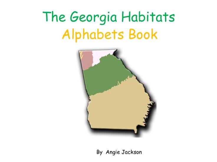 georgia-habitat-abc-book by cisturner via Slideshare