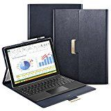 Surface Pro 4 Case ESR Intelligent Series Folio Stand Case [Buckler for Secure Closure][Compatible with Surface Pro 4 Type ][Built-in Stand with Multiple viewing Angles]for Surface Pro 4_Navy Blue