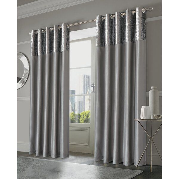 Olvera Eyelet Room Darkening Curtains