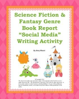 fantasy genre book reports Create fun and engaging book reports with fantasy characters and biography posters that every student will love.