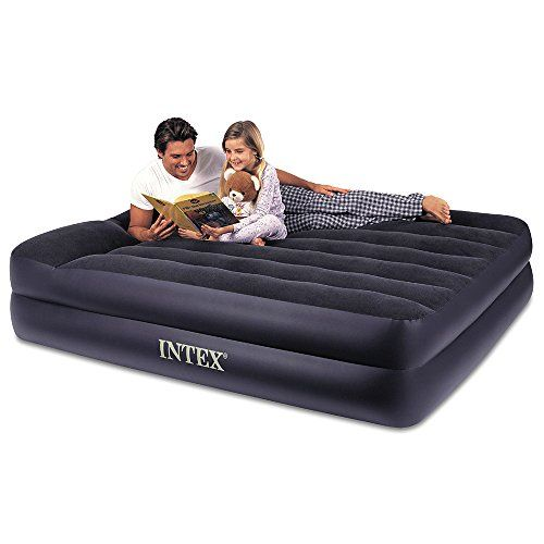 Sofa Table Intex Pillow Rest Raised Airbed with Built in Pillow and Electric Pump Queen Bed Height Don ut get left behind see this great product offer