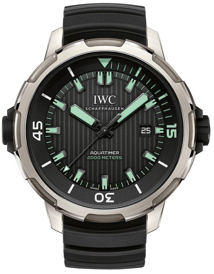 IWC Aquatimer 2000 IW358002 Automatique Titanium Homme