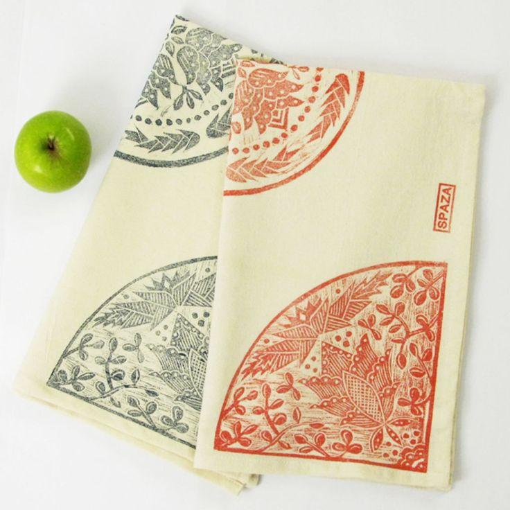 Tea Towel Madiba Print by SpazaStore on Etsy