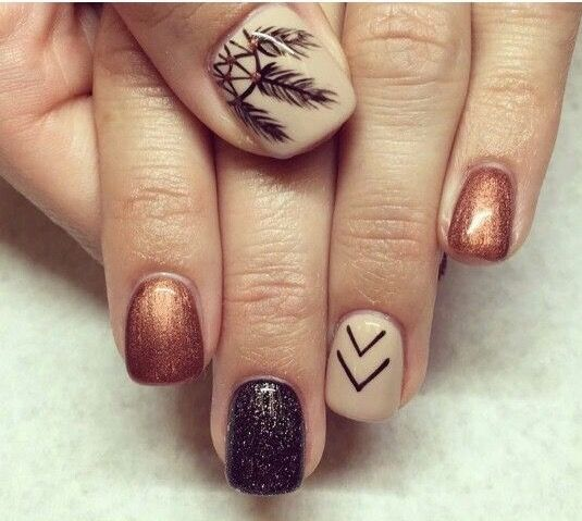 Best 25+ Fall acrylic nails ideas on Pinterest