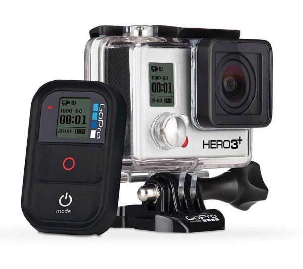 Kamera sportowa GoPro HD Hero 3+ Black Edition to jeszcze bardziej ulepszony model kamery GoPro Black. Jest ona o 20% mniejsza i lżejsza od swojego poprzednika.