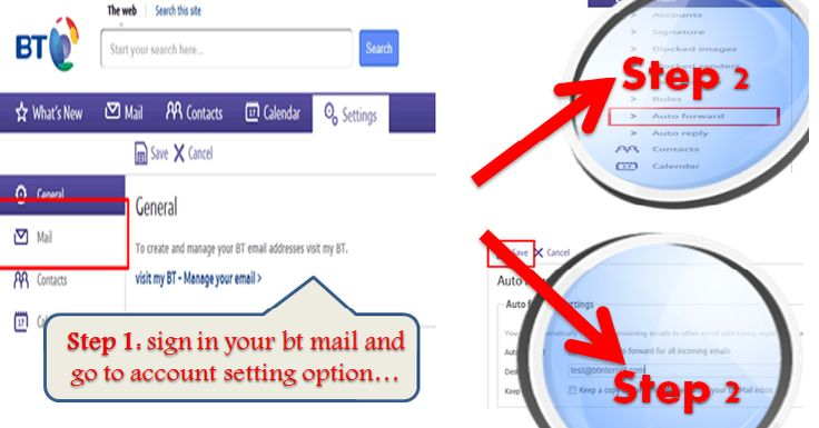 Easily Setup Auto-Forward in your BT Mail BT Mail is one of the most superior web based email service that is widely used due to its brilliant and smart user friendly interface. It...