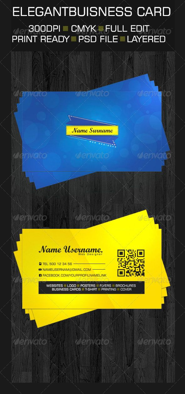 GraphicRiver Clean Buisness Card 3444161