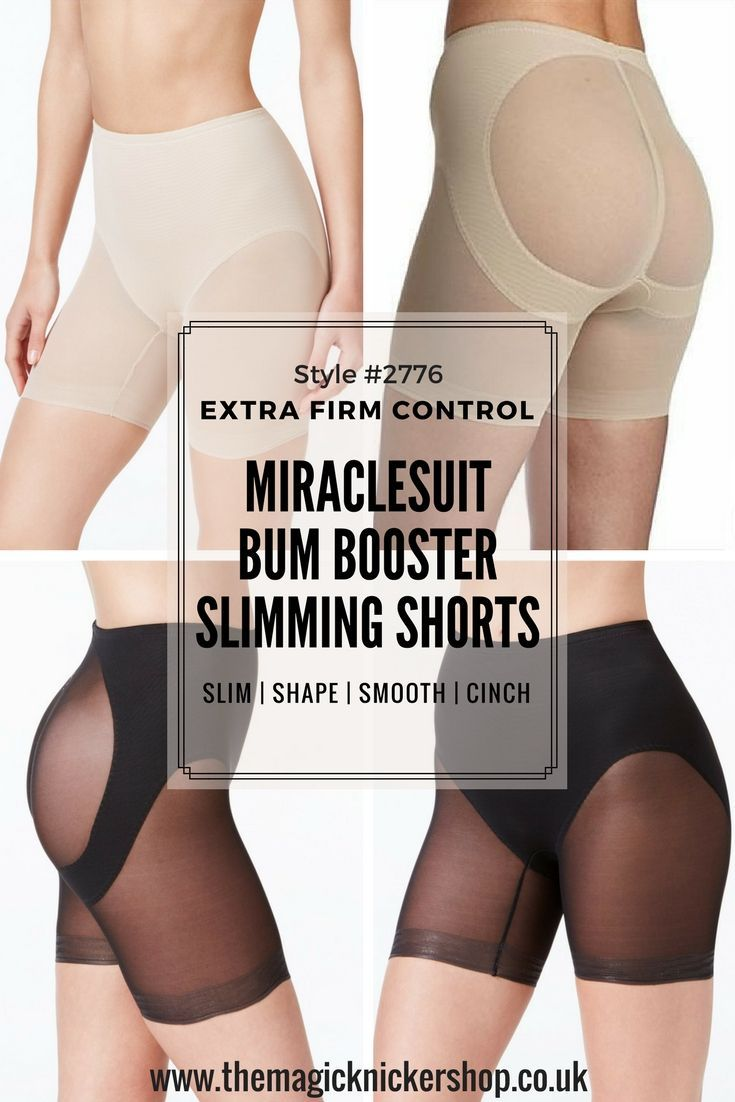 5013950f32a These Miraclesuit Bum Booster Slimming Shorts are AMAZING! They not only  firmly slim your thighs