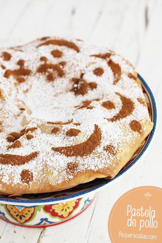 Pastela de pollo, una receta de pollo marroquí
