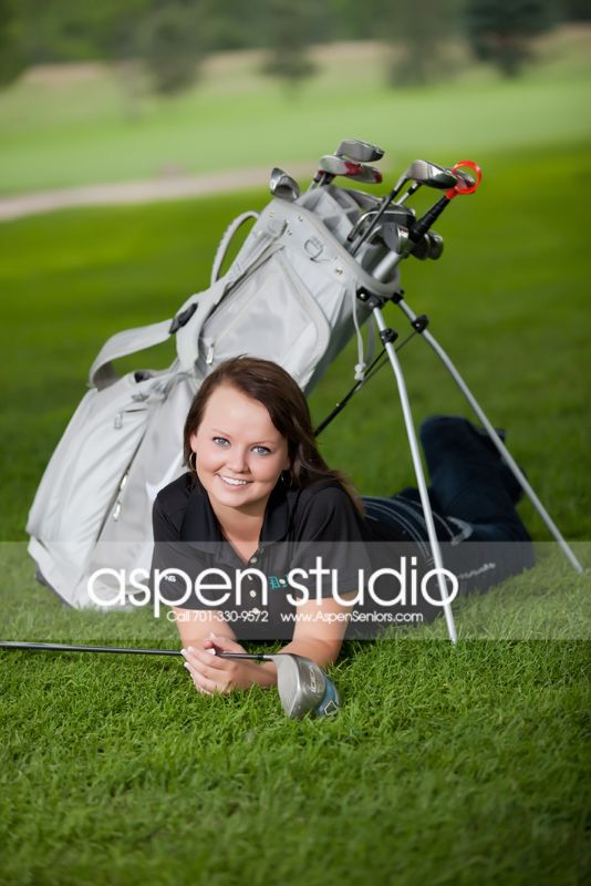 senior portraits golf - Google Search