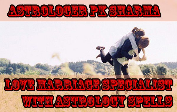Get consult with love marriage specialist pandit pk Sharma he is know offering love marriage astrology free services your problem will be solved in short times.