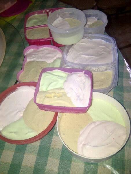 Proses Pembuatan Es Krim Susu Kental Manis