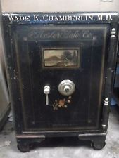 Antique safe Mosler